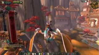 World of Warcraft - Mists of Pandaria - How to Get to Vale of Eternal Blossoms and Get Flying