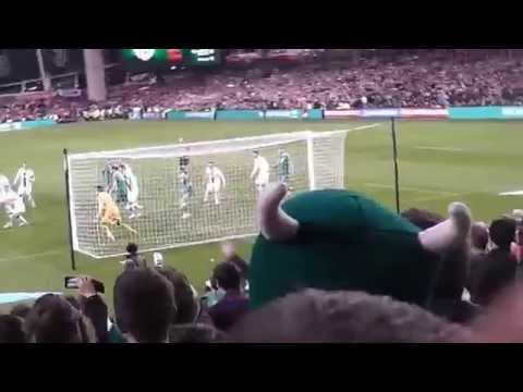 Shane Long - Equaliser - ROI v Poland - Aviva, Dublin 29th March 2015