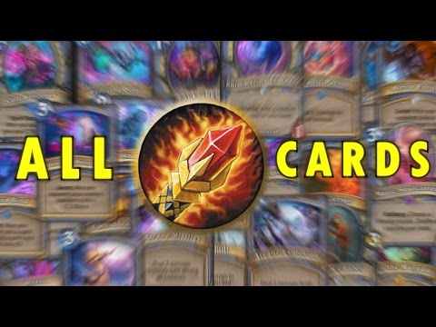 Hearthstone - All Mage Cards (standard) Explained