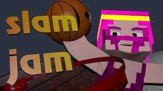 NEW Minecraft Minigame! - SLAM JAM! w/Dartron, Yoshi and Prezzy