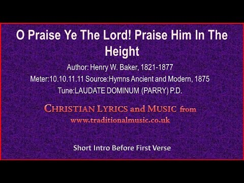 William Billings - O praise God, praise him in his holiness