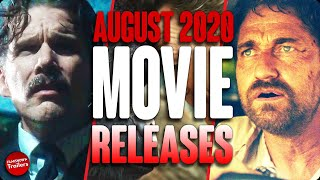 MOVIE RELEASES YOU CAN'T MISS AUGUST 2020