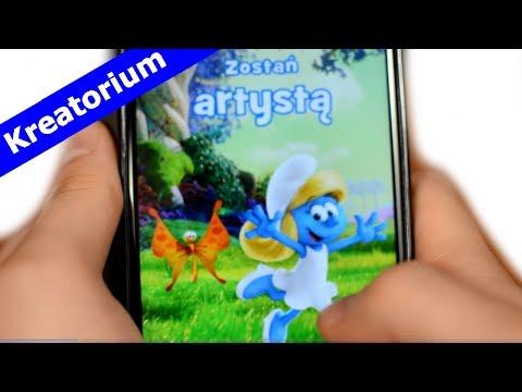 Gra Smerfy Happy Studio - Happy Meal McDonalds - Gry Na Telefon - KreatoriumTV