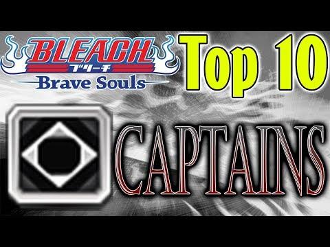 Bleach Brave Souls Top 10 Captains (April 2018)