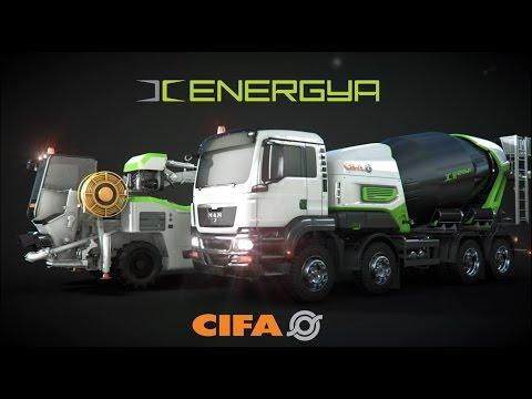 Video Domíchávač betonu Energya E9