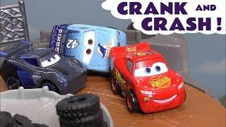 Disney Pixar Cars 3 McQueen & Jackson Storm Mini race with Hot Wheels Marvel Mattel Hulk