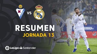 Resumen de SD Eibar vs Real Madrid (0-4)