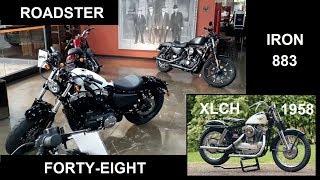 HD Iron 883, 48 e Roadster - História da Sportster - Ep. 026