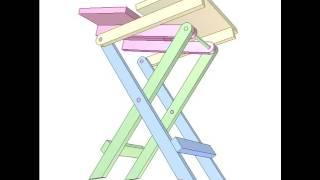 Folding table 4