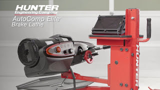 AutoComp Elite™ Automatic Compensation Brake Lathe by Hunter Engineering