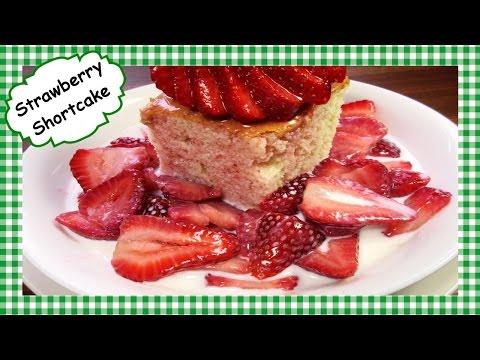 Old Fashioned Strawberry Shortcake Recipe ~ Homemade ~ Start to Finish!