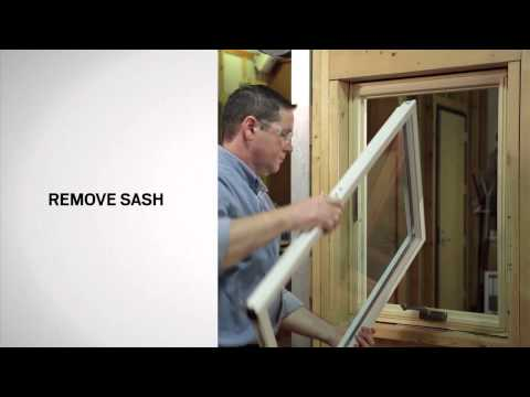 Glazing Bead Replacement on Andersen® 400 Series Casement Windows