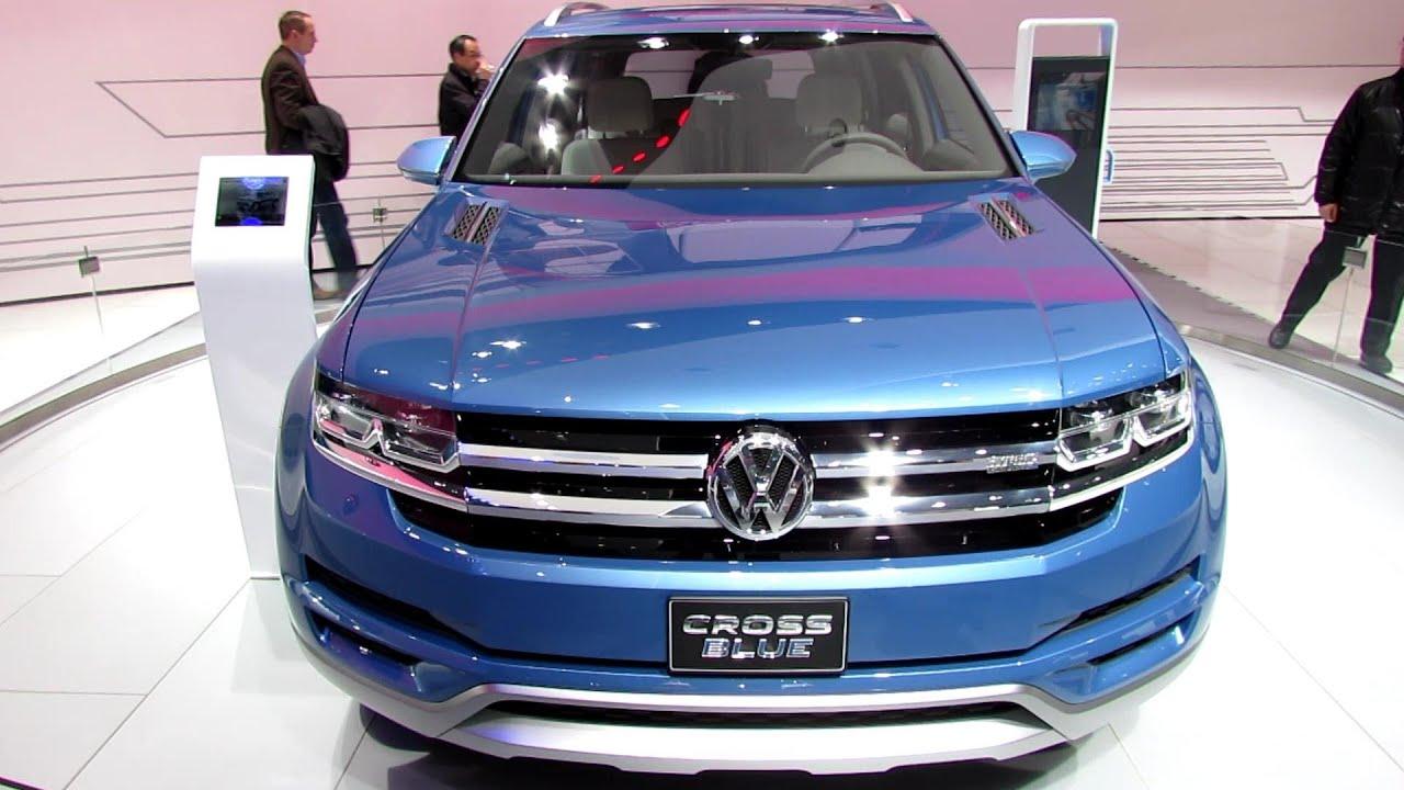 2014 Volkswagen Cross Blue Plug-in Hybrid SUV - Exterior ...