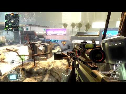 Black Ops 2 Quickscoping w/ Gold DSR-50 Commentary 