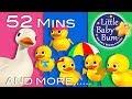 Five Little Ducks | Part 2 | Plus Lots More Nursery Rhymes | 52 Mins Compilation from LittleBabyBum!