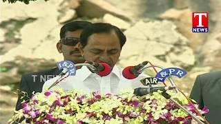 CM KCR Speaks About Telangana Development | Independence Day Celebrations | Golconda  Telugu