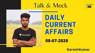 Daily CA Live Discussion in Tamil| 08-07-2020 |Mr.Naresh kumar