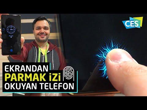 Ekrandan parmakizi okuyan ilk telefonu kullandık