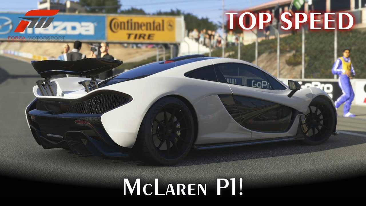 top speed mclaren p1 forza motorsport 5 pt br youtube. Black Bedroom Furniture Sets. Home Design Ideas