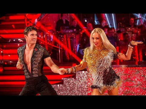 Thom Evans & Iveta Lukosiute Cha Cha To 'it's My Party' - Strictly Come Dancing: 2014 - Bbc One video