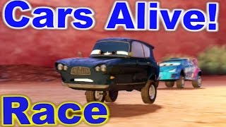 Cars 2: The video Game - Tomber - Race on Timberline Sprint