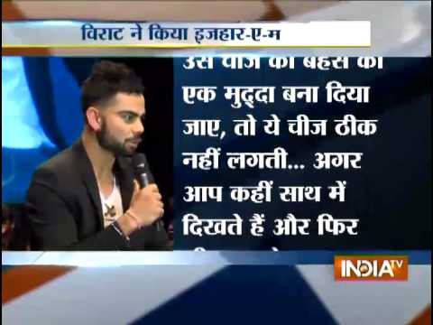 Virat Kohli finally breaks his silence over his relationship with Anushka Sharma
