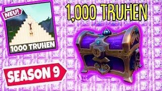 1000 TRUHEN, ABER nur 1 RICHTIGE in Season 9!