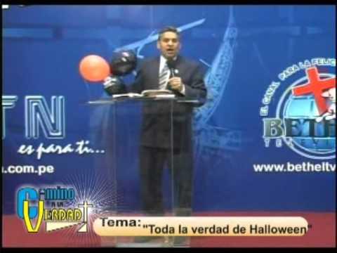 Toda la Verdad de Halloween - Rev. Eugenio Masias