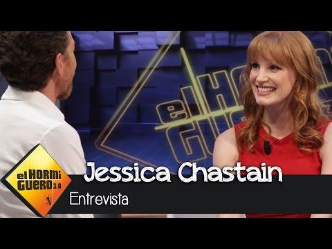 Jessica Chastain en El Hormiguero 3.0: