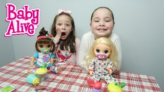 BABY ALIVE Morning Routine Challenge