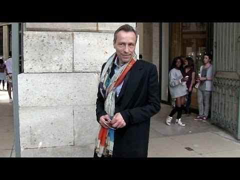 Michael Wincott at Cerruti Fashion Show in Paris