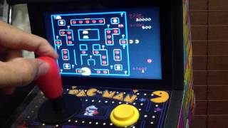 Custom PACMAN arcade 8 in 1 arcade cabinet plug and play
