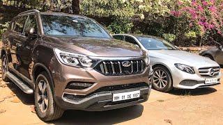 Mahindra Alturas & Mercedes E-Class - Live | Faisal Khan