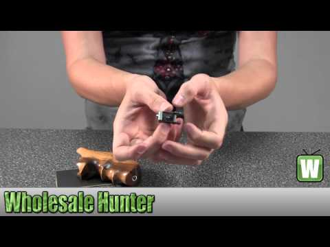 Hogue Goncalo Alves Wood Grip Ruger Speed Six 88200 Gaming Unboxing