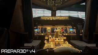 Prepar3D v4.3 | Los Angeles to Heathrow | KLAX-EGLL | PMDG 777-300ER | P3D