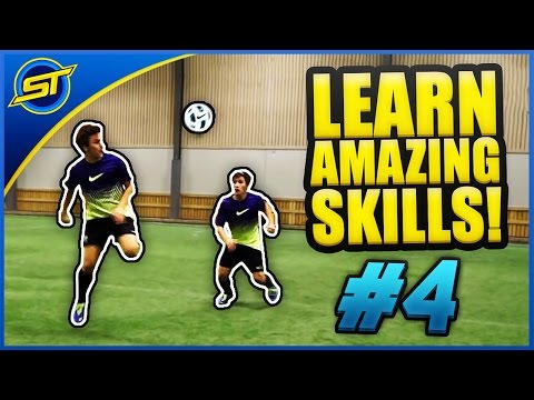 Learn Amazing Football Skill Tutorial #4