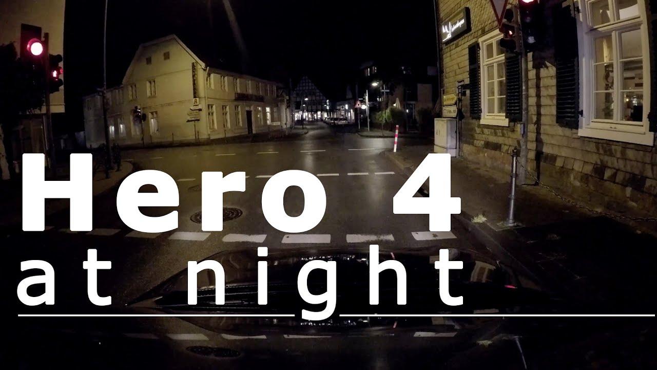 Lens Gopro 4 Gopro Hero 4 at Night