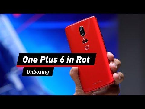 One Plus 6 in Rot: COMPUTER BILD packt aus!