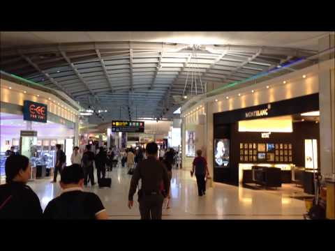 International Airport in Bangkok, Thailand