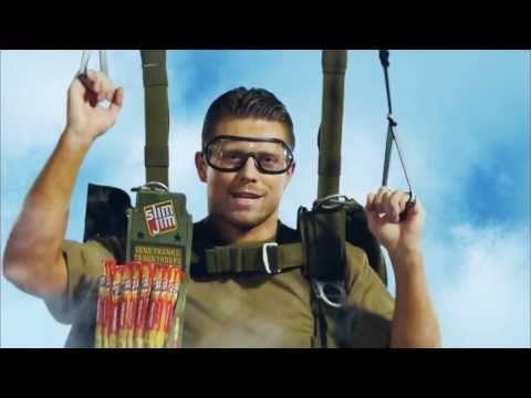 WWE Slim Jim Commercial Feat. Kaitlyn,The Miz, and Kofi Kingston