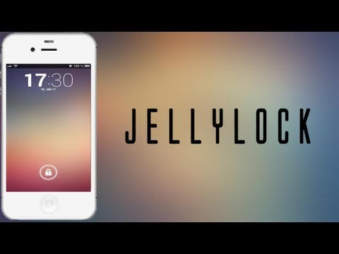JellyLock - Android Jelly Bean Lockscreen