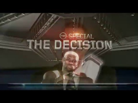 "NBA on TNT Crew Mocks LeBron James' Hairline ""The Decision"""