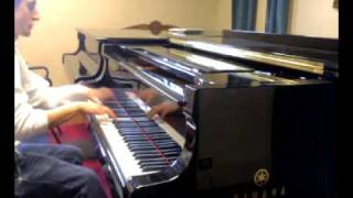 Uematsu- Final Fantasy 7 AC- One winged angel(metal version on piano)played by A.Marino