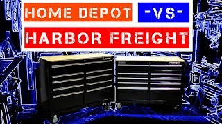 "Harbor Freight -VS- Home Depot ( Yukon - VS - Husky ) 46"" 9-Drawer Workstations"