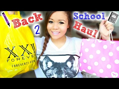 HUGE Back to School Clothing Haul!(Forever 21, PINK & More!)