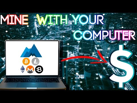 How To Mine Cryptocurrencies On Your Computer 2017 | Minergate Cryptocurrency Mining
