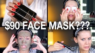 $90 FACE MASK WTF? | First Impressions