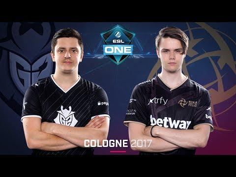 CS:GO - G2 vs. NiP [Cache] - Swiss Round 2 - ESL One Cologne 2017