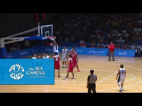 Basketball Men's Team Finals  (Day 10) | Slam dunk | 28th SEA Games Singapore 2015