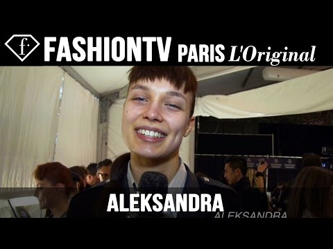 Aleksandra: My Favorite Model | Model Talk | FashionTV